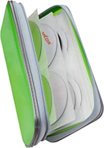 Fanspack Porta CD Estuche CD de 80 Disco CD DVD Bolsas CD Almacenamiento Disco Duro portátil: Amazon.es: Electrónica