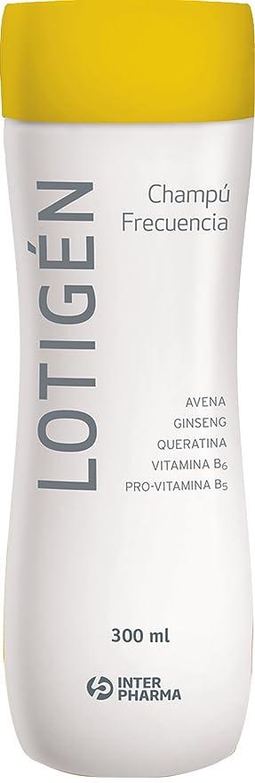 LOTIGÉN – Champú suave 100% natural de uso frecuente, diseñado para la higiene diaria
