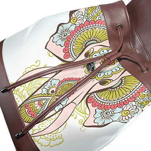 Taille multicolore au femme main Sac dos à DragonSwordlinsu unique pour porté 67zPq