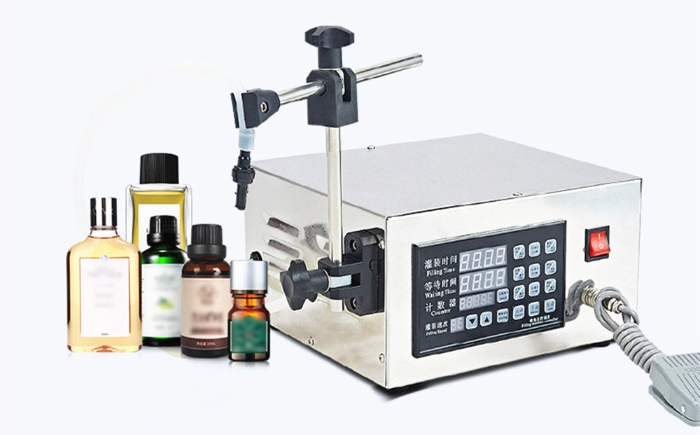 KC-280 Automatic Liquid Filling Machine Intelligent Control Small Beverage Canning Machine