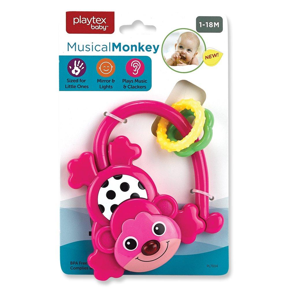 Playtex Musical Monkey Pink