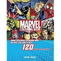 Marvel Colouring Book: Jumbo Superhero Colouring Book for