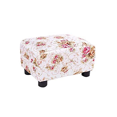 Fabulous Tltljd Footstool Padded Footstool Solid Wood Shoes Bench Cjindustries Chair Design For Home Cjindustriesco