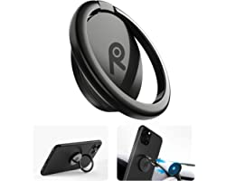 ORIbox Phone Ring Holder Finger Kickstand,Metal Grip Holder for Magnetic Car Mount Compatible with iPhone 12 Pro max/12Pro/12