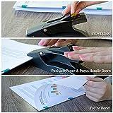 OfficeGoods Staple Free Stapler - The NO Slip Clip