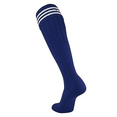 1e038d363 Amazon.com  Twin City Euro Trio 3Stripe Soccer Socks  Clothing