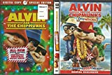 ALVIN AND THE CHIPMUNKS TRIPLE FEATURE DVD SET THE ORIGINAL, THE SEQUEL, AND CHIPWRECKED!!