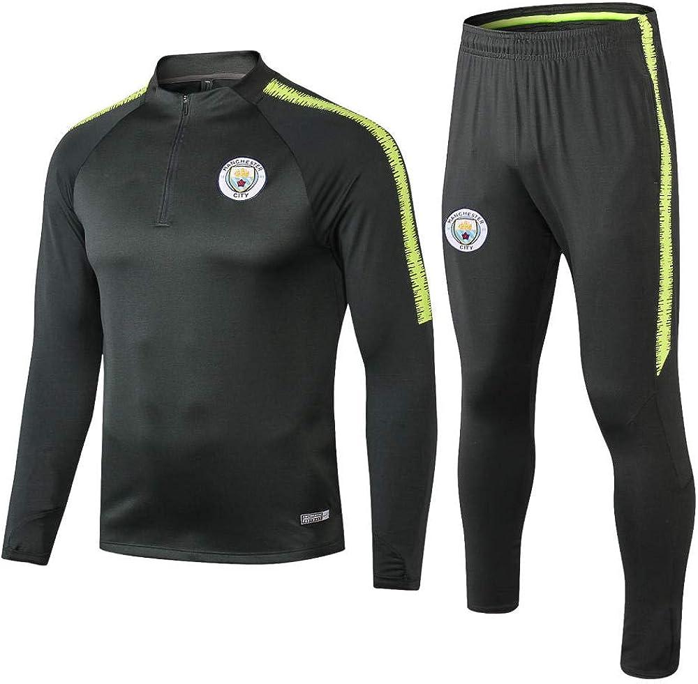Club 1920 Long Raman Manchester City Verde Oscuro Chaqueta con ...