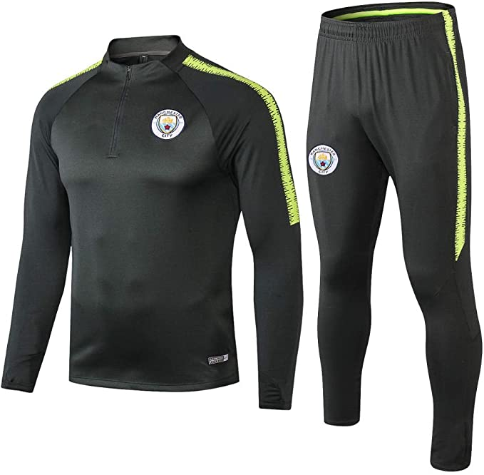 Club 1920 Long Raman Manchester City Verde Oscuro Chaqueta ...