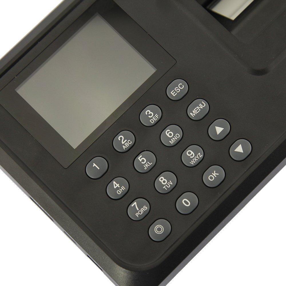 Tekit® New N-A6 Biometric Fingerprint Time Attendance Clock, USB Communication