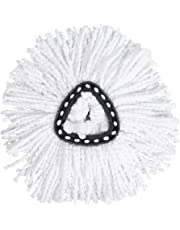 Spin Mop Refill Replacement Mop Heads Microfiber Triangle Spinning Mops Head for Floor Easy Cleaning