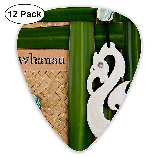 Slaytio Púas de Guitarra NZ Maori - Whanau - Tema Familiar de 0,96 ...