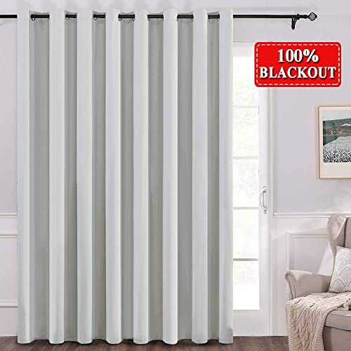 MIULEE Room Divider Curtains 100 Blackout