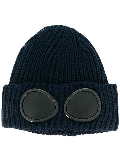 CP COMPANY Men s 05Cmac158a003321a888 Blue Wool Hat  Amazon.co.uk ... 39986705b28