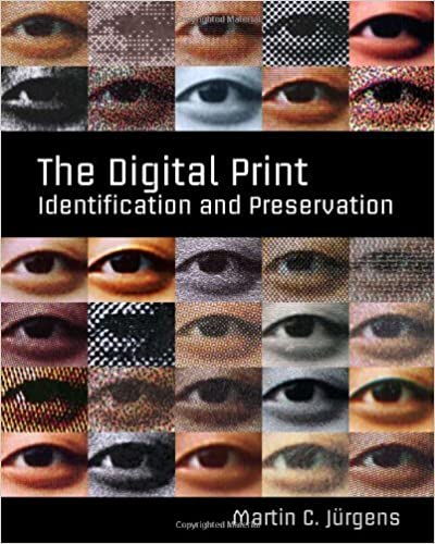 Book The Digital Print: Identification and Preservation by Martin C. Jürgens (2009-08-25)