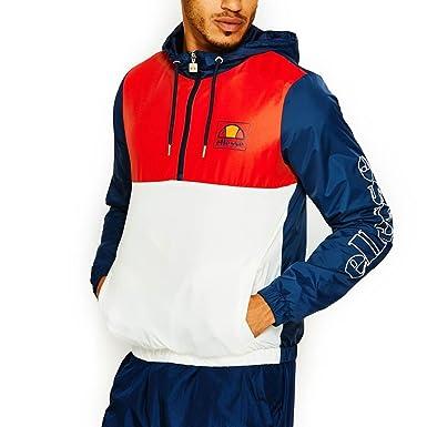 Veste bleu blanc rouge homme