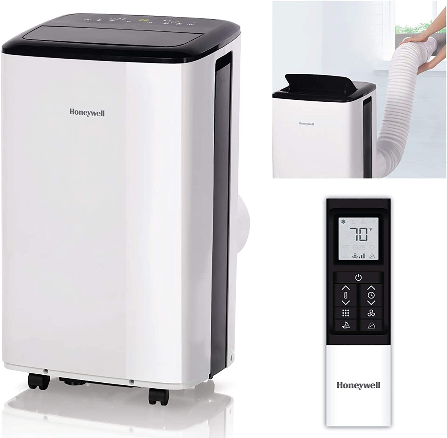 Honeywell 10,000 BTU Portable Air Conditioner with WiFi, White