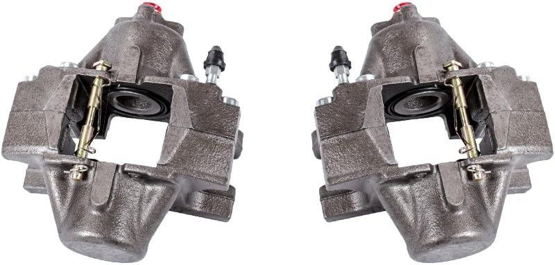 Callahan CCK04163 2 Hardware Brake Kit REAR Premium Semi-Loaded Original Caliper Pair