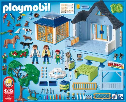 Amazon Playmobil Animal Clinic Toys Games
