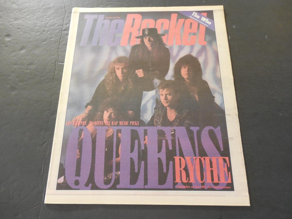 The Rocket August 1989 Seattle Music Scene Newspaper