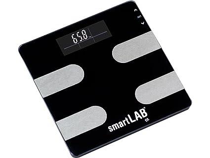 smartLAB fit Básculas para análisis del cuerpo digital | Grasa corporal Medición del equilibrio de peso