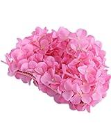 Wingogo Délicat Bonnet De Bain Femme Fleur Pour Femme Cheveux Longs