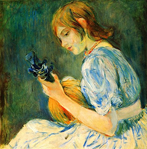 The Mandolin by Berthe Morisot