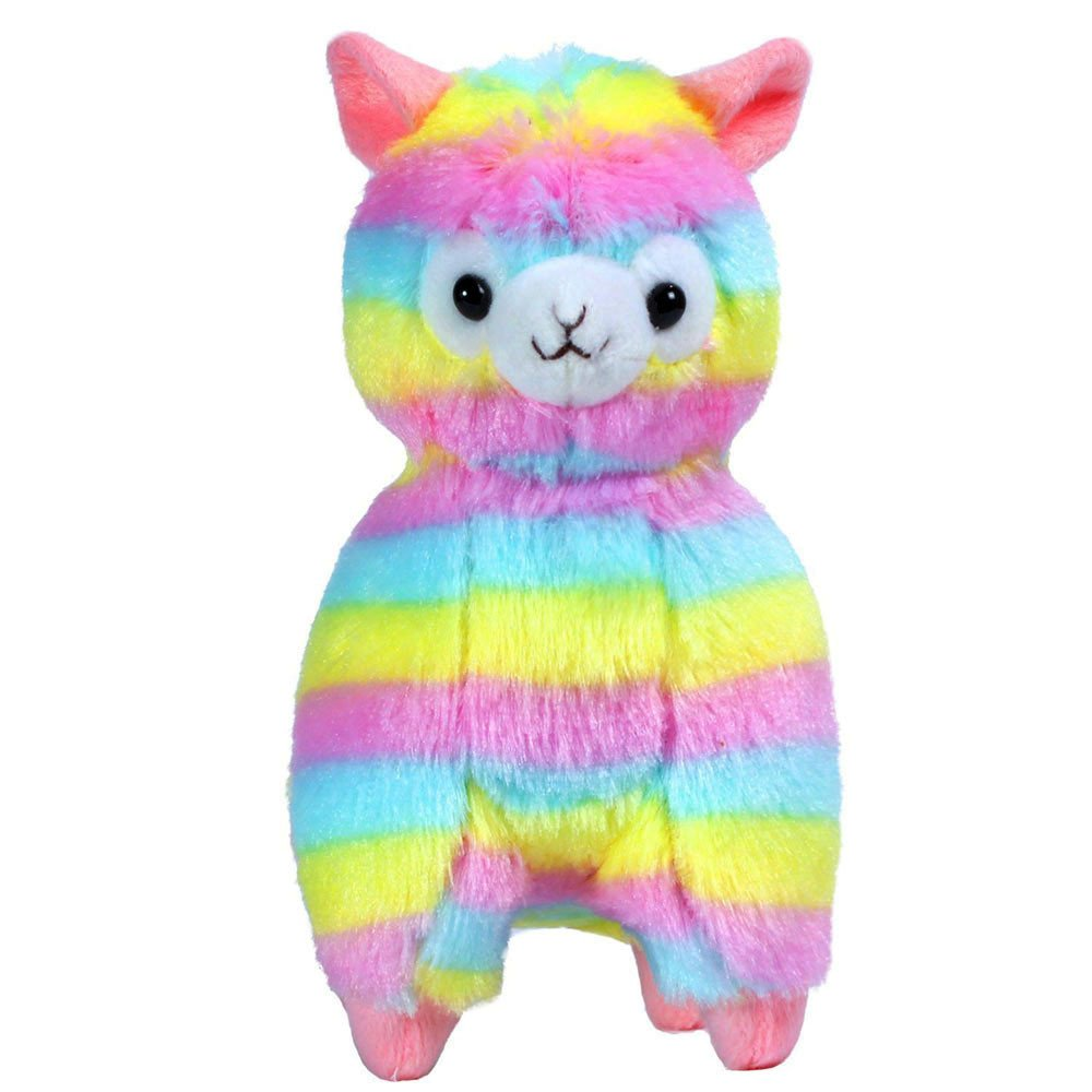 USHOT Novelty Gag Toys, 13CM Colorful Kawaii Alpaca Llama Arpakasso Soft Plush Toy Doll Gift Cute Toys