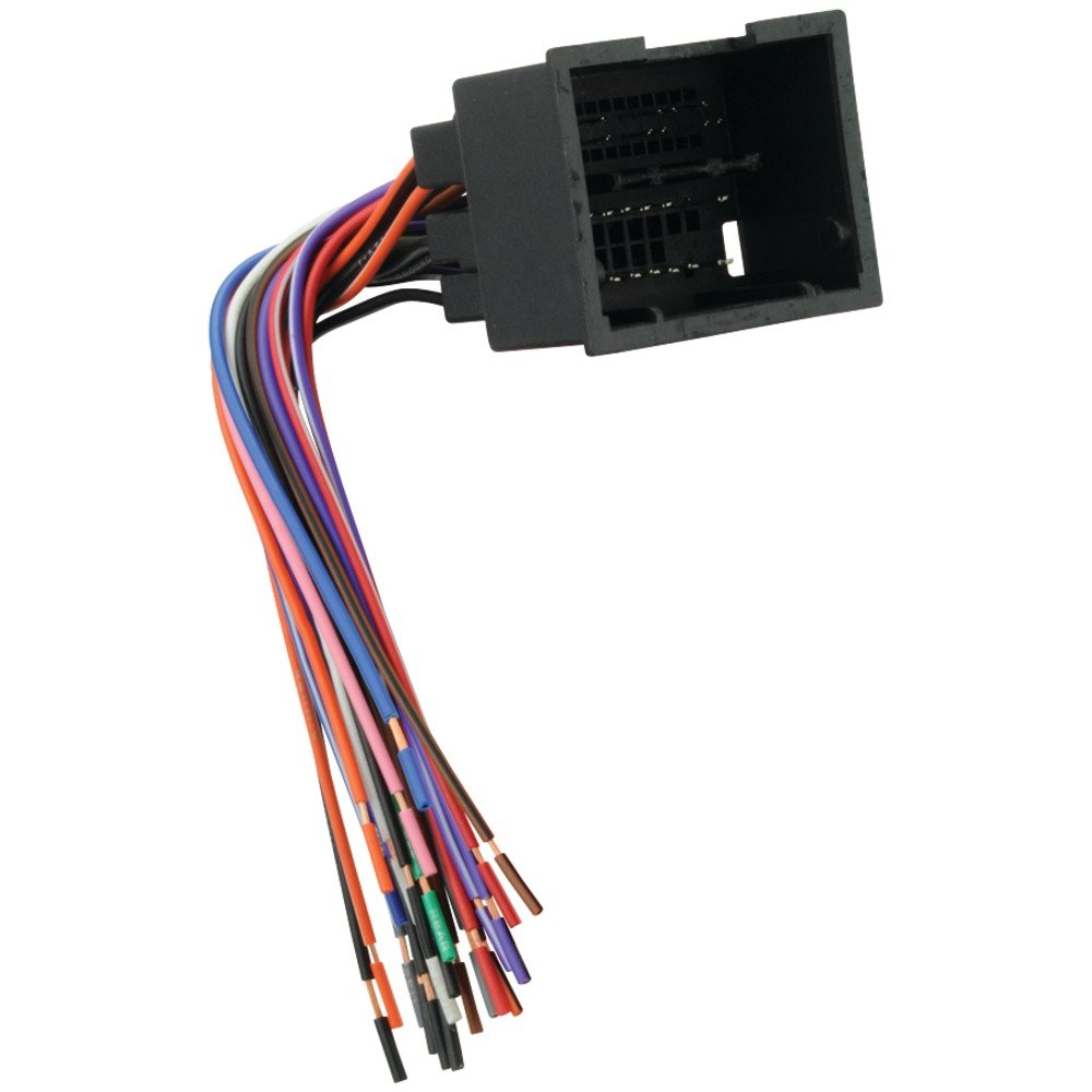 Amazon.com: SCOSCHE GM19B 2010-11 Chevrolet Camaro Harness: Car Electronics