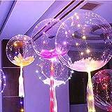 Phantomx LED Transparent Bobo Ballon Wedding Birthday Party Lights Deco