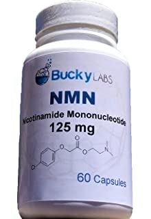NMN β-Nicotinamide Mononucleotide 125mg 60 Caps
