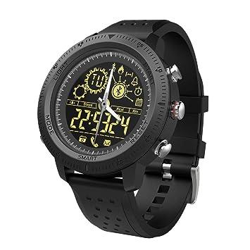 NX02 - Reloj Inteligente con pasómetro, calorías, Deporte, Digital, Banda Bluetooth,