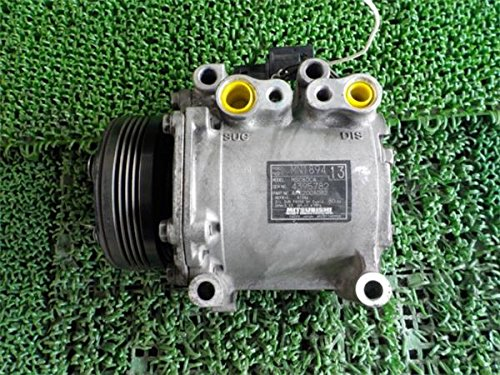 三菱 純正 ekワゴン H82系 《 H82W 》 エアコンコンプレッサー P80200-18010386