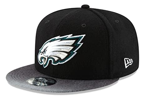 a6a425c7bdb Image Unavailable. Image not available for. Color  New Era Philadelphia  Eagles 9FIFTY NFL Melton Mixer Snapback Hat