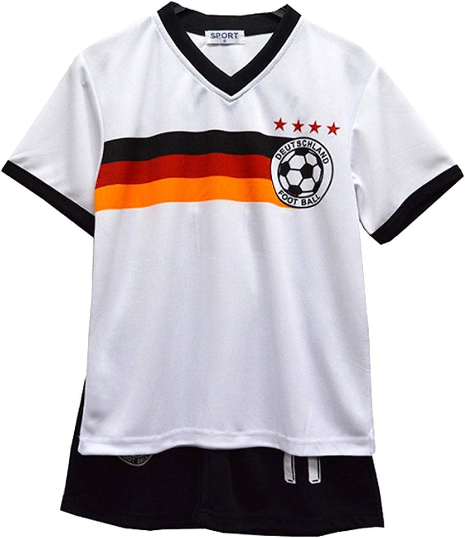 Default Aelstores Boys Football Kit Set Summer Shorts New Girls Top Vest Size Age 2-14