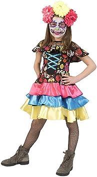Lujo Piratas – Chica Disfraz para Niños, Day of The Dead Costume ...