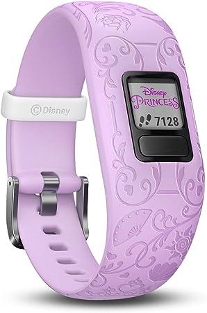 Garmin Mädchen Vivofit Jr 2 Princes Fitness Tracker Disney Prinzessin Violett Ab 4 Jahren 130 175 Mm Handgelenkumfang Sport Freizeit