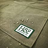 H&O All-Purpose Work Apron : Durable Waxed Canvas