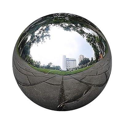 Gazing Globe Ball - 12/10/8/6/5/4/3Inch Stainless Steel Mirror Ball, Gazing Shiny Ball Gazing Balls for Gardens and Pond (10in) : Industrial & Scientific