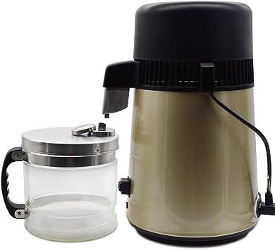 olizee 304 Acero inoxidable agua Destilador de agua purificador de ...