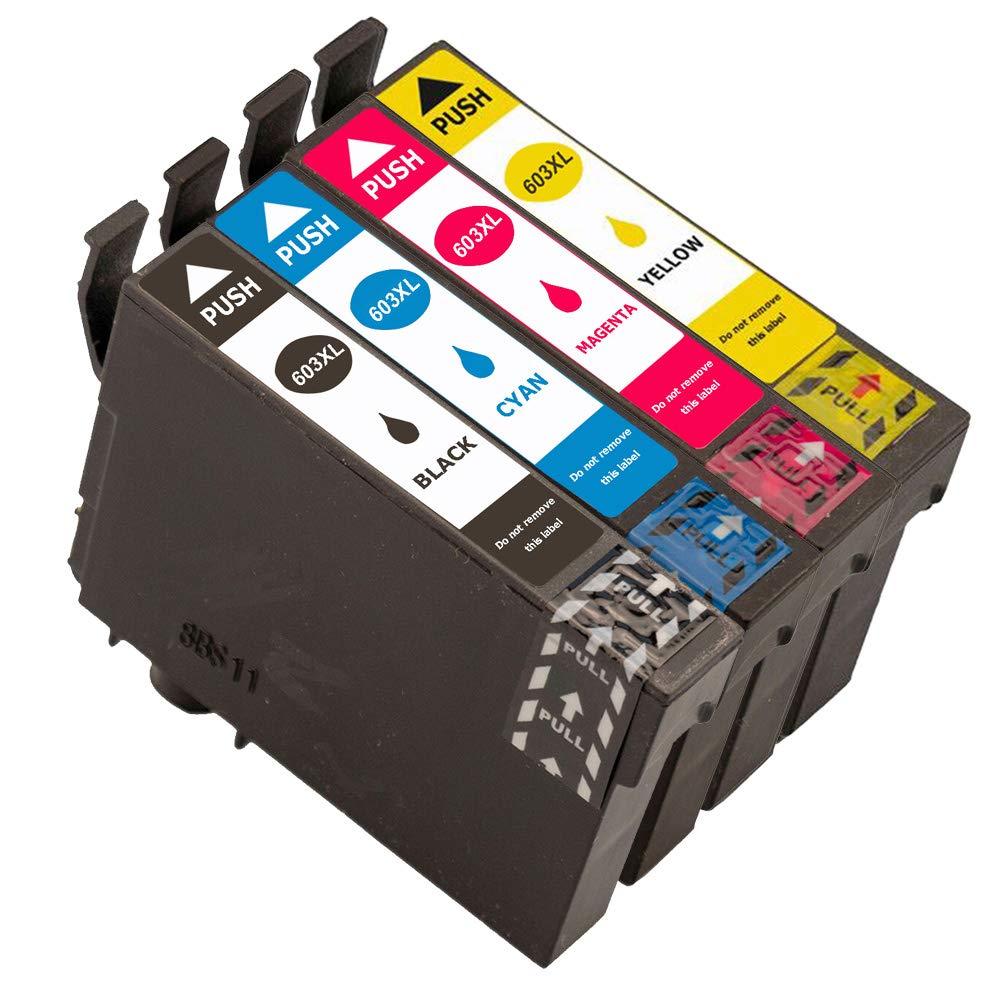 Caidi - Cartuchos de Tinta para Epson Expression Home XP-3100 XP ...