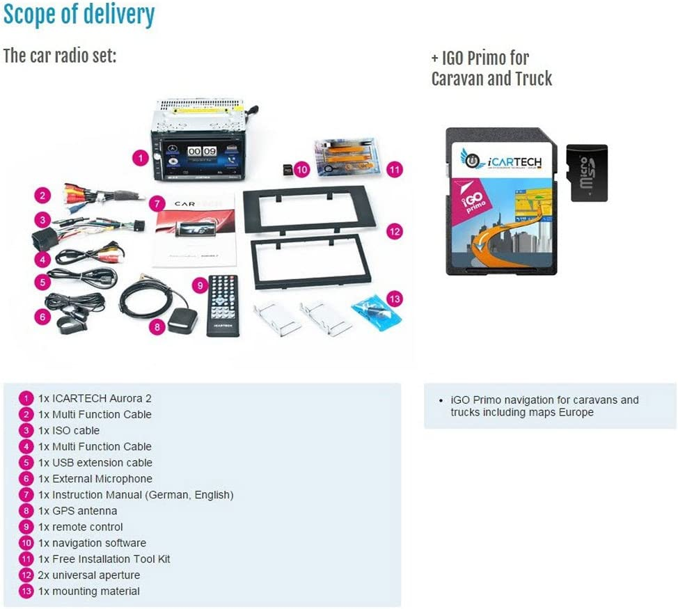 De alta calidad 2din 7 Multimedia navegador GPS de navegación ...