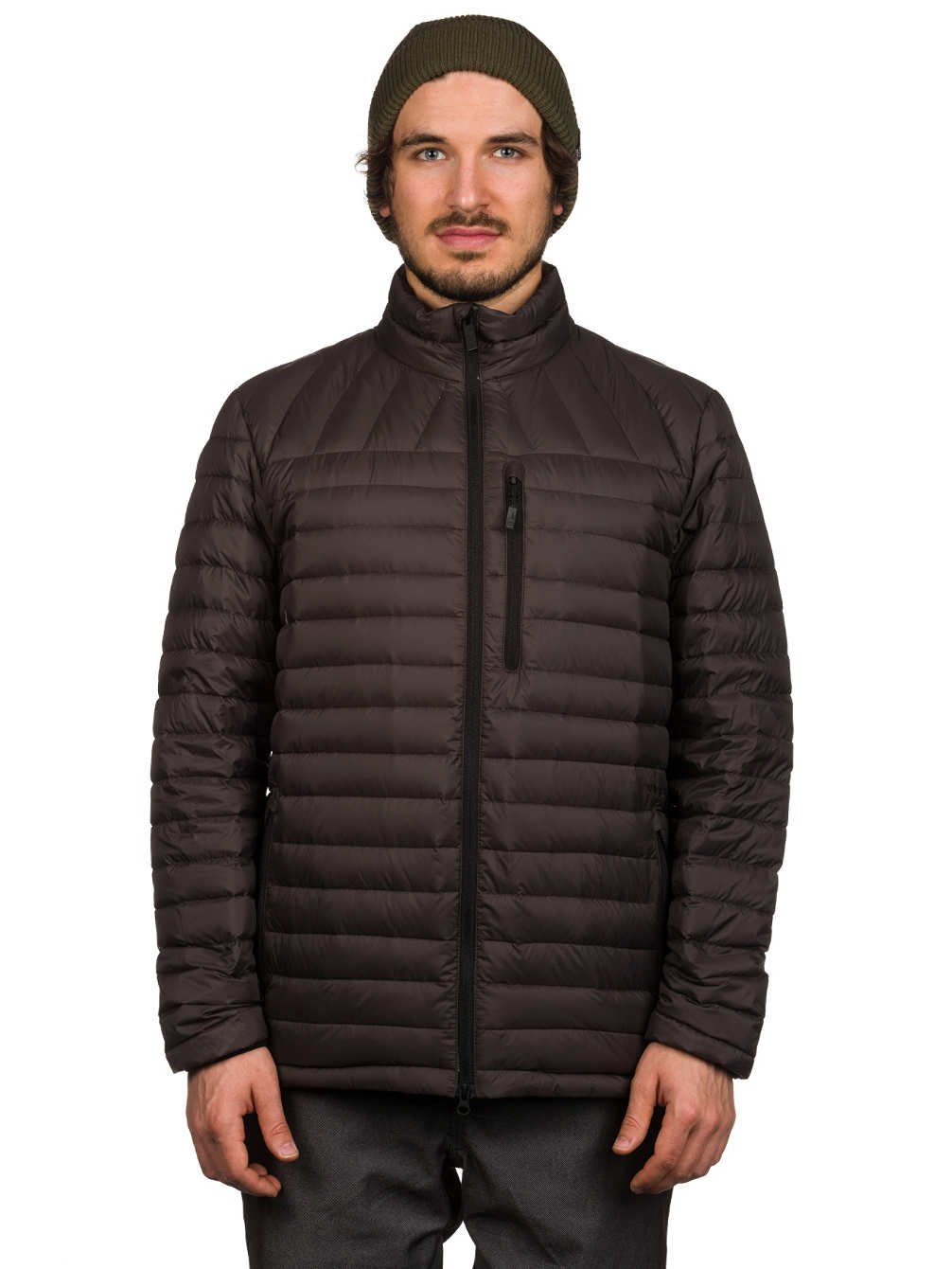 Volcom Snow Men's Puff Puff Give Jacket Vintage Black X-Large