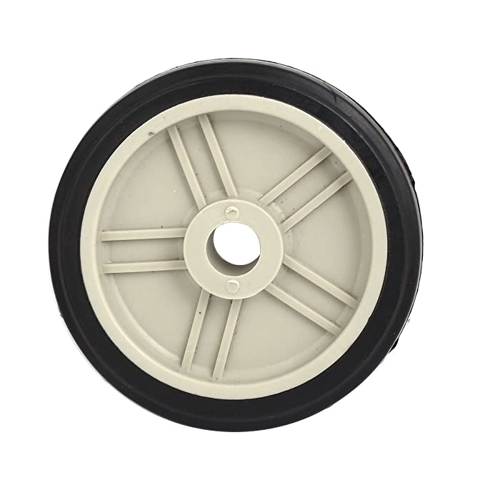 sourcing map Compresor de aire de pl/ástico las ruedas negro 115mmx16.5mm Piezas de repuesto de 2pcs