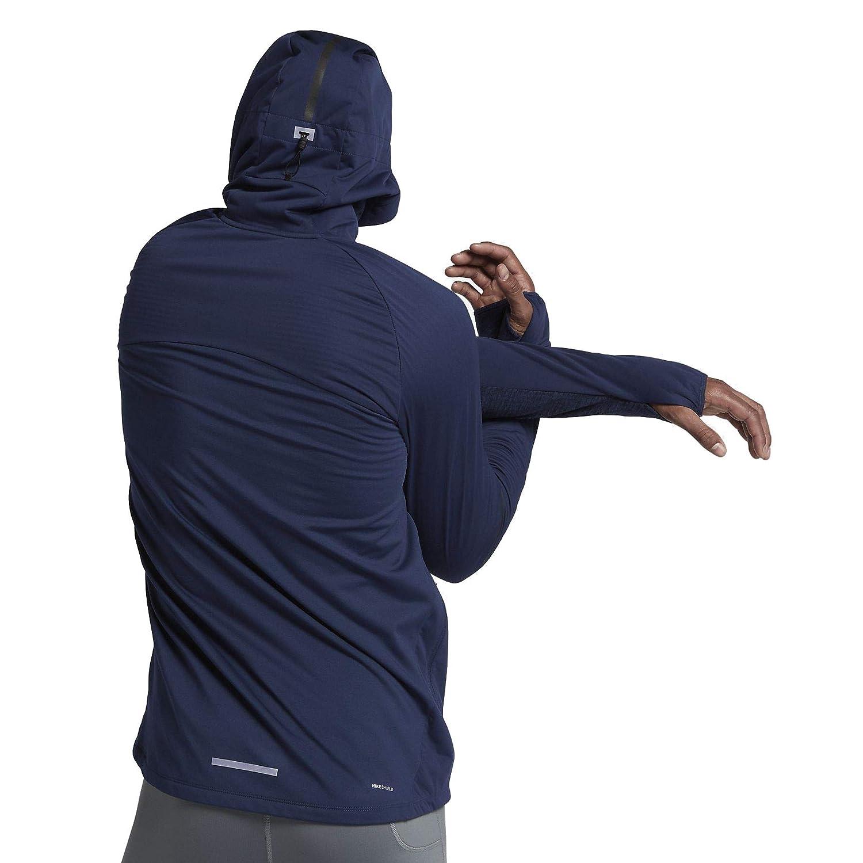 de7b2d02beb683 Nike Men s Shield Max Warm Running Jacket - Binary Blue (XX-Large) at  Amazon Men s Clothing store