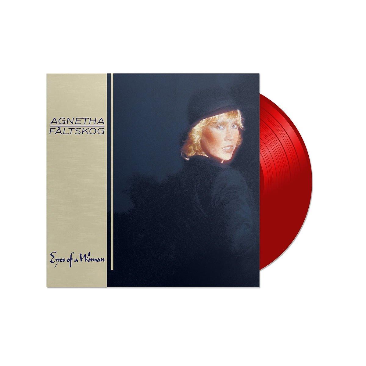 Vinilo : Agnetha Faltskog - Eyes Of A Woman (Red Vinyl) (Colored Vinyl, Red, Holland - Import)