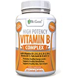 Vitamin B Complex Supplement Made in the USA | With Vitamin B12, B1, B2