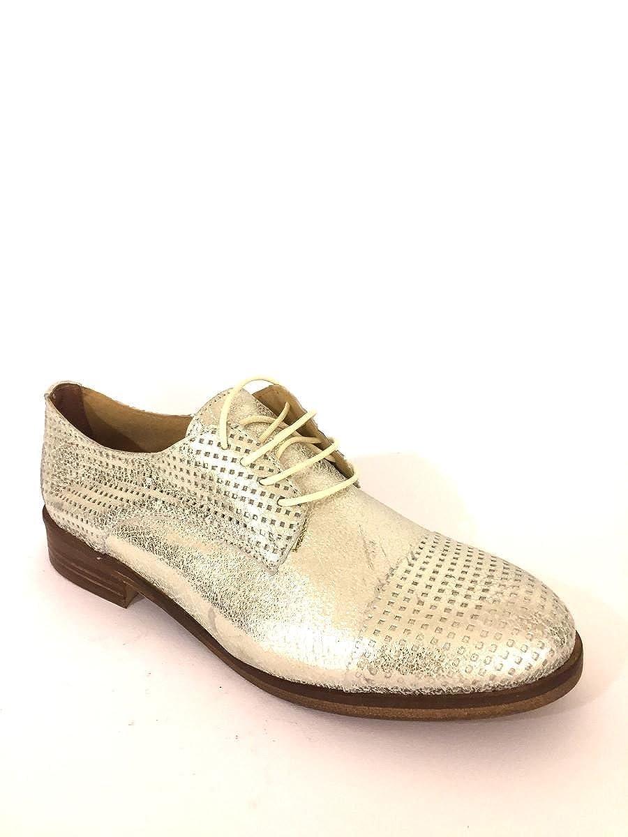 ZETA Mokassins Schuhe , Damen Mokassins ZETA Gold 41401a