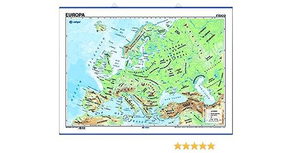 póster europa físico / político: Amazon.es: edigol ediciones, s.a. ...