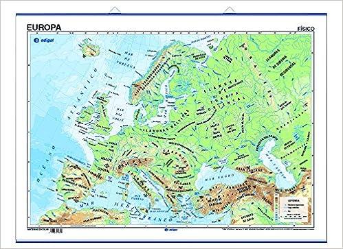 póster europa físico / político: Amazon.es: edigol ediciones, s.a.: Libros